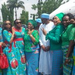 President Buhari With ssome Rivers Women and Non Indigenes in Port Harcourt