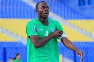 NIGERIAN defender David Faramola Oniya