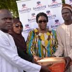 Dangote Foundation Donates materials to IDPs in Yobe, Adamawa, Borno