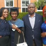 Senator Ayogu Eze Expresses Joy Over Daughter's Law Graduation In UK