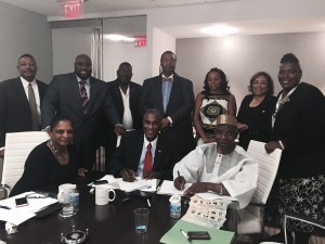 INDUCTION OF  AMBASSADOR  TUNDE  ADETUNJI  TO  THE  WORLD  CONFERENCE  OF  MAYOR  AND  THE  NATIONAL  POLICY  ALLIANCE