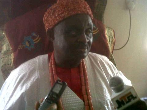 Traditional ruler of Adogbalator Kingdom in Awgu Council Area of Enugu state, Igwe Chris Okoye Oti,