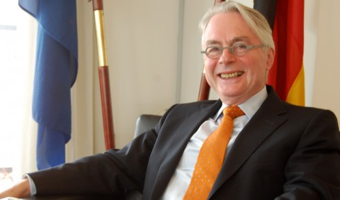 Ambassador of Germany to Nigeria, Michael Zenner