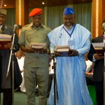 Photo News: Buhari Swears-In new ministers @ state house, abuja