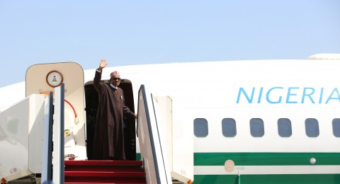PRESIDENT BUHARI DEPARTS FOR MOTA 2A