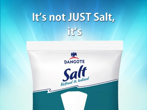 New Dangote Salt pack