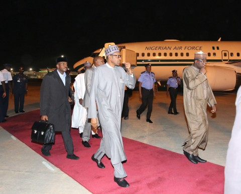 PRESIDENT BUHARI RETURNED 4