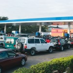 Scarcity: Motorists Groan As Long Queue Resurfaces In Lagos Fuel Stations