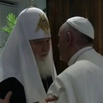 Pope holds historic talks with Russian Orthodox Patriarch, Calls for Unity