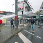 Left-Wing Stalwarts Protest Against Ruling Party Conference In Germany