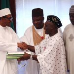 Photo News: Buhari Signs 2016 Budget into Law