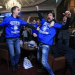 Jubilation As Leicester win Premier League title after Tottenham draw at Chelsea