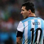 Argentina Striker Lionel Messi Quits International Football