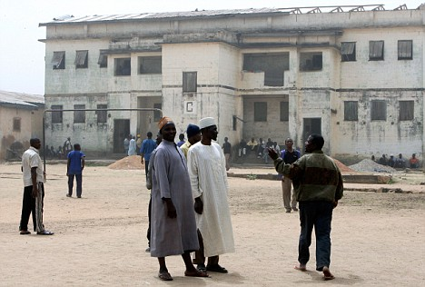 Nigeria: court way in the prison of Jos