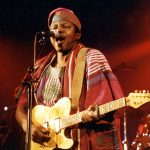 Information Minister Greets King Sunny Ade at 70