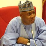Saraki Pays Second Visit to Buhari in London