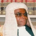 Buhari Inaugurates Justice Walter Onnoghen As Acting CJN