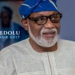 BREAKING NEWS: Rotimi Akeredolu Wins Ondo Governorship Election