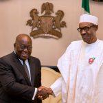 Ghana's President-Elect, NanaAkufo-Addo Visits Buhari