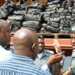 BREAKING: Customs Intercept 661 Pump Action Rifles in Lagos