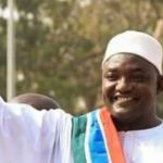 Gambian President, Barrow Holds Closed Door with Buhari in Abuja