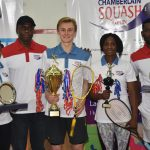 Ford, Olatunji Win Maiden Chamberlain Squash Open Finals