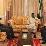 Buhari Receives Saraki, Dogara in London + Photos