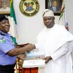 Ambode Receives New Lagos CP, Imohimi Edgal, Pledges Support