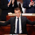 Macron Urges U.S. Congress To Reject Narrow Nationalism