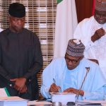 Finally, Buhari Signs 2018 Budget; Expresses Concern Over Changes
