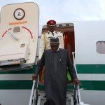 Buhari Returns from London Vacation, Mourns Kofi Annan