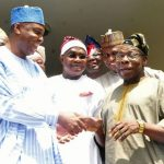Saraki Holds Secret Meeting with Obasanjo in Abeokuta