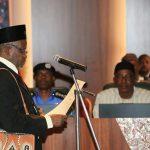 Breaking: Buhari Removes Onnoghen, Swears in Mohammed As Acting CJN