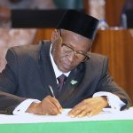 Buhari Swears-in Justice Tanko Muhammad As New CJN