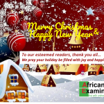 Season Greetings from AFRICAN EXAMINER