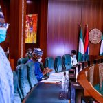 BREAKING: Buhari Unveils Ibrahim Gambari As New Chief of Staff At Virtual FEC Meeting