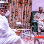 Buhari Meets Senate President on Insecurity, APC Crisis