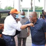 Edo 2020: Embattled Governor Obaseki Visits Wike