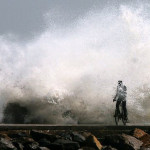 """Tens of Thousands Flee as Cyclone """"half the size of India"""" Threatens East Coast"""