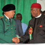 Governor Orji 2014 Armed Forces Remembrance Day Emblem Lunch in Umuahia, Abia State