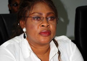 Nigeria's embattled minister of Aviation Ms Stella Oduah