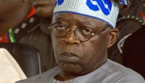 Former Governor of Lagos state, Bola Ahmed Tinubu
