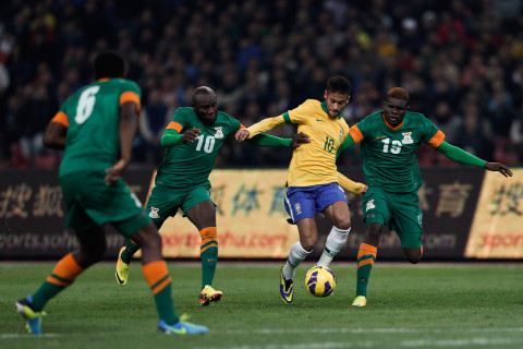 Brazil defeated Zambia 2-0 in international friendly match