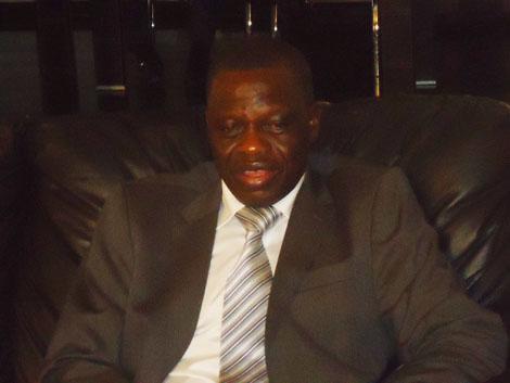 Embattled Speaker of Plateau State, John Dabwan
