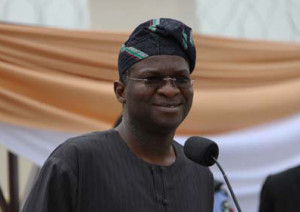 Lagos state governor Babatunde Fashola