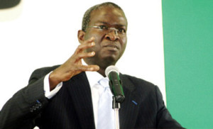 Lagos state governor, Babatunde Fashola
