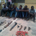 Police Parade 8 Armed Robbery Suspects in Lagos