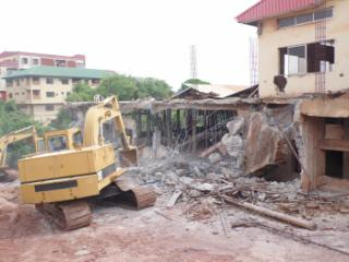 Mountain of Fire Church pulls down by Enugu state government