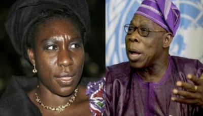 Iyabo Obasanjo and her father Former President Olusegun Obasanjo