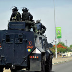 Shame as Soldiers, Policemen Engage in Bloody Fight Over Traffic Issues